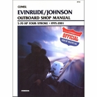 Evinrude Johnson Outboard 5-70 HP 4-Stroke Repair Manual 1995-2001
