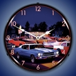 Fast Freds Wall Clock, LED Lighted: Bruce Kaiser