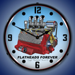 Flathead V8 Wall Clock, Lighted