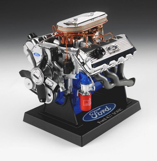 Ford 427 SOHC Engine Die-Cast, 1:6 Scale