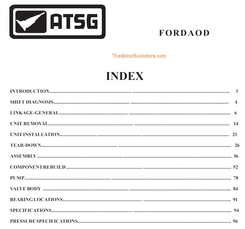 differential rebuild ford aod transmission manual manuals  ford aod  transmission assembly guide  shop online for ford transmission parts  converters and