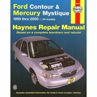 Ford Contour, Mercury Mystique Repair Manual 1995-2000