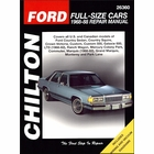 Ford Country Sedan, Crown Victoria, Galaxie, LTD, Mercury Colony Park, Grand Marquis, etc. Repair Manual 1968-1988