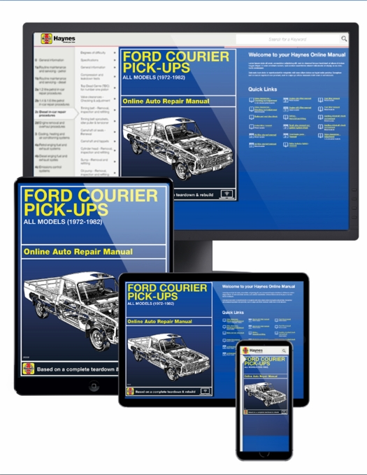 1976 ford courier wiring diagram ford courier pick up online service manual  1972 1982  ford courier pick up online service