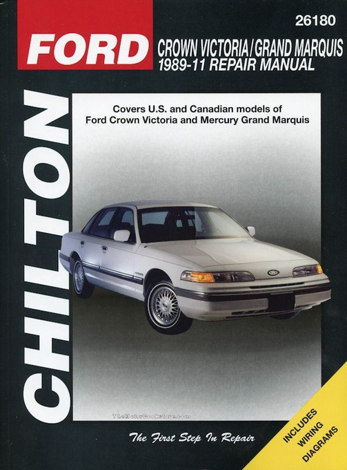 ford crown victoria mercury grand marquis repair manual 1989 2011 rh themotorbookstore com 2003 Mercury Marquis Repair Manual Grand Marquis Owner's Manual