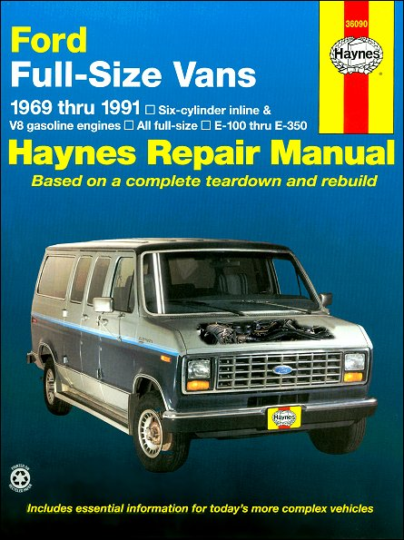 ford econoline      repair manual