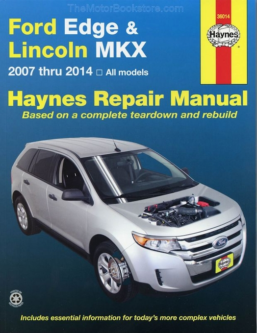 ford edge lincoln mkx repair manual 2007 2014 haynes 36014 rh themotorbookstore com roland mks 80 service manual roland mks-20 service manual