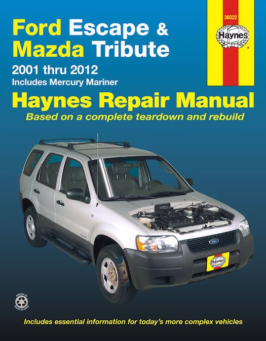 ford escape mazda tribute mercury mariner repair manual rh themotorbookstore com mazda 6 2005 repair manual mazda 3 2005 repair manual pdf