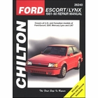 Ford Escort, EXP, Mercury Lynx, LN7 Repair 1981-1990