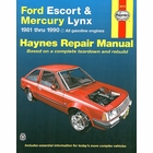 Ford Escort, Mercury Linx Repair Manual 1981-1990