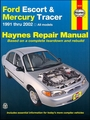 Ford Escort, Mercury Tracer Haynes Repair Manual 1991-2002