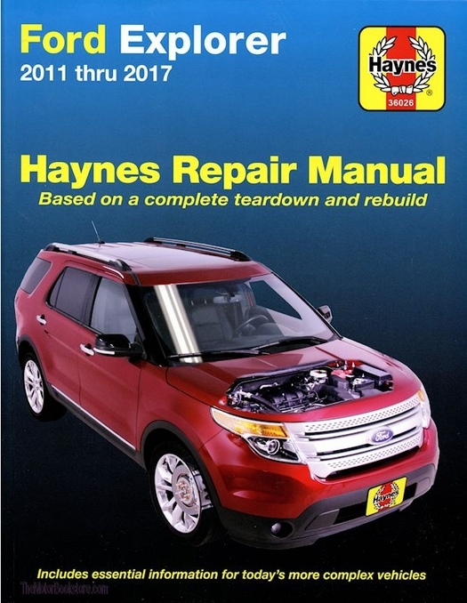 Ford Explorer Repair Manual: 2011-2017