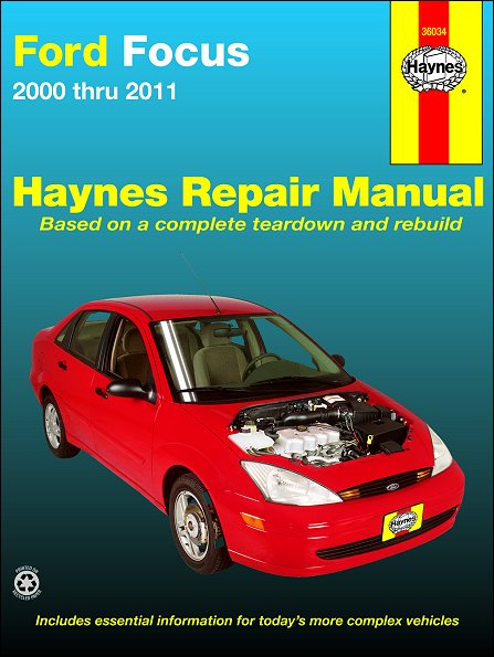 Ford Focus Haynes Repair Manual 2000-2011