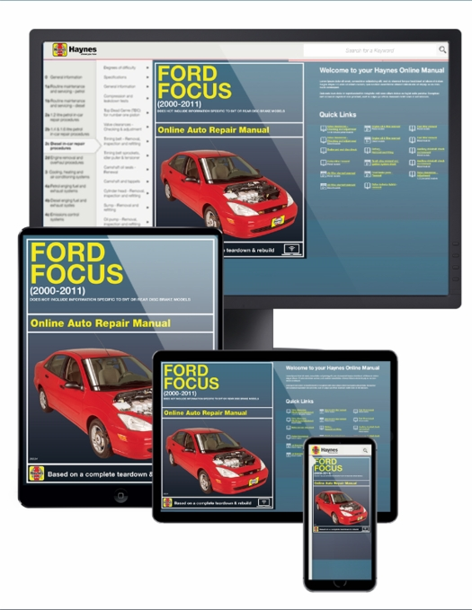 Ford Focus Online Service Manual 2000-2011