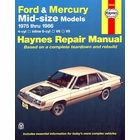 Ford, Mercury Mid-Size Models Repair Manual 1975-1986