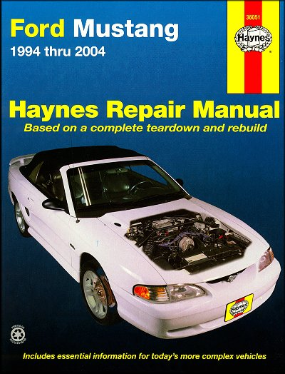 Ford Mustang Haynes Repair Manual 1994-2004