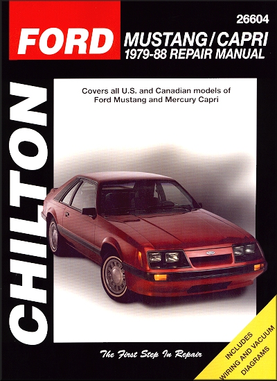 ford mustang mercury capri repair manual 1979 1988 rh themotorbookstore com ford capri workshop manual pdf ford capri repair manual pdf