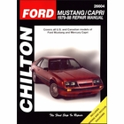 Ford Mustang, Mercury Capri Repair Manual 1979-1988