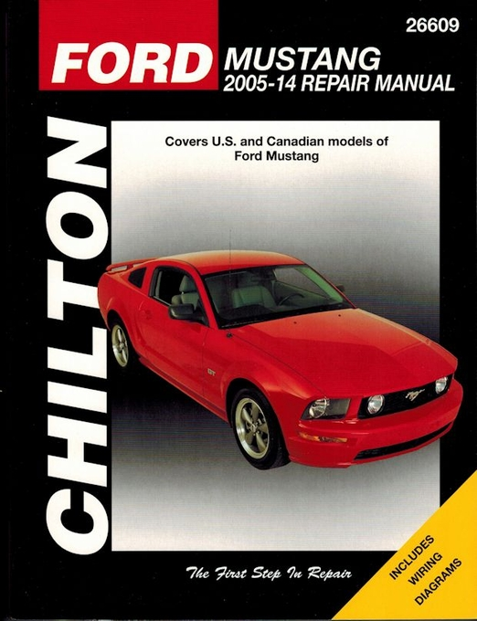 ford mustang repair service manual 2005 2014 chilton 26609 rh themotorbookstore com 2005 Mustang Manual Transmission 2005 Ford Mustang Service Manual