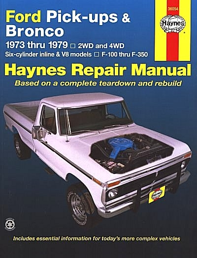 ford    bronco service repair manual