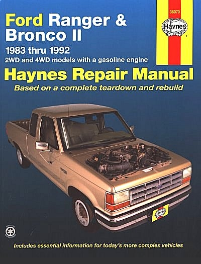1988 ford bronco service manual enthusiast wiring diagrams u2022 rh rasalibre co 1995 Ford Ranger 1995 Ford Ranger