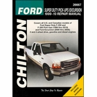 Ford Super Duty F-250, F-350, Excursion Repair Manual 1999-2010