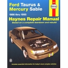 Ford Taurus, Mercury Sable Haynes Repair Manual 1986-1995