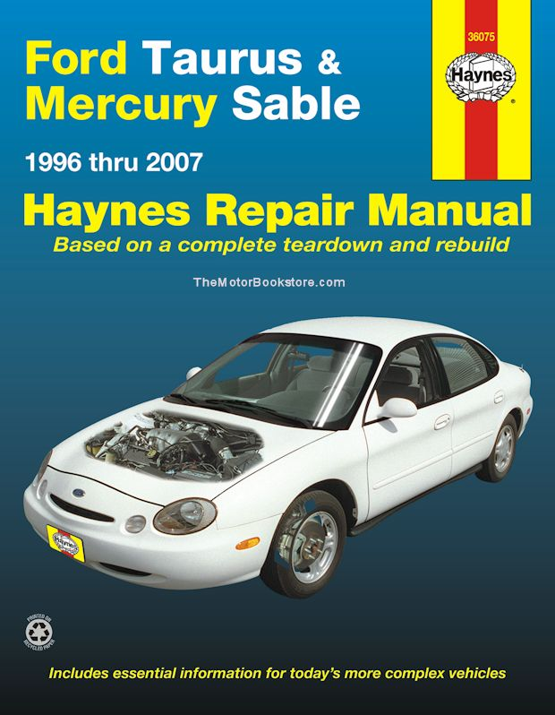Ford Taurus, Mercury Sable Haynes Repair Manual 1996-2007