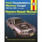 Ford Thunderbird, Mercury Cougar Repair Manual 1983-1988