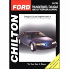 Ford Thunderbird, Mercury Cougar Repair Manual 1983-1997