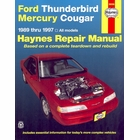 Ford Thunderbird, Mercury Cougar Repair Manual 1989-1997