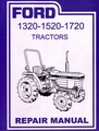 Ford Tractor 1320 1520 1620 1720 Repair Manual