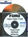Ford Tractor 1320, 1520, 1720 Repair Manual on CD-ROM
