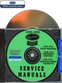 Ford Tractor, Ferguson System Service Manuals 1939-1953 CD-ROM