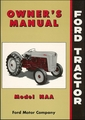 Ford Tractor Model NAA Owner's Manual 1953-1955