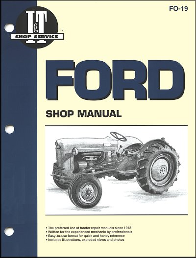 ford tractor repair manual model naa naa golden jubilee rh themotorbookstore com Service Manuals 12H802 Manual