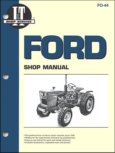 Ford Tractor Repair Manual by Clymer - Free Shipping