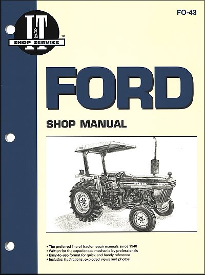 ford tractor repair manual models 2810 2910 3910 rh themotorbookstore com