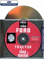 Ford Tractor Repair Manual on CD-ROM 1955-1960