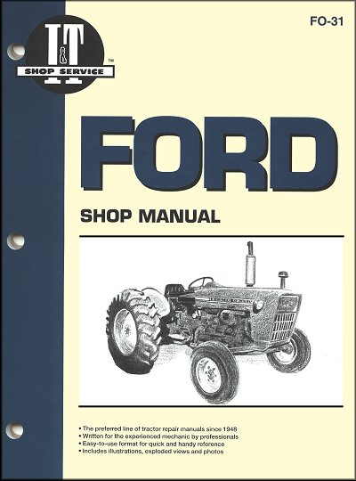 ford tractor repair manual 2000 3000 and 4000 series rh themotorbookstore com ford 3000 tractor parts manual ford 3000 tractor parts manual