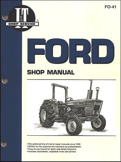 ford tractor repair manual series 2310 2600 2610 3600 3610 4100 4110 4600 4610 4600su 4610su 26 ford tractor repair and service manual by clymer Ford Tractor Electrical Wiring Diagram at panicattacktreatment.co