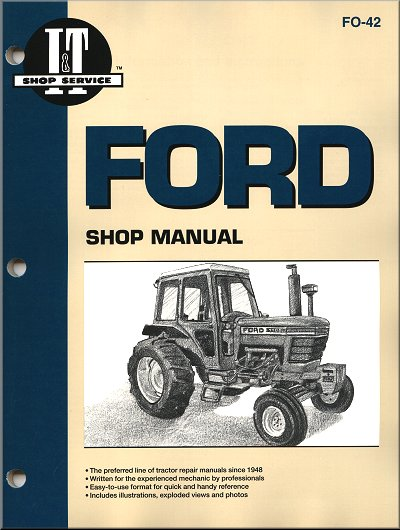 ford tractor repair manual 5000 6000 7000 series i t clymer rh themotorbookstore com ford 5600 tractor parts manual Ford ZX2 Repair Manual