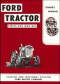 Ford Tractor Series 600 & 800 Owner's Manual 1957-1962