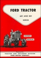 Ford Tractor Series 601 and 801 Owner's Manual 1957-1962