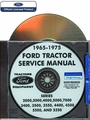 Ford Tractor Service Manual - Series 2000-7000 1965-1975 - CD-ROM