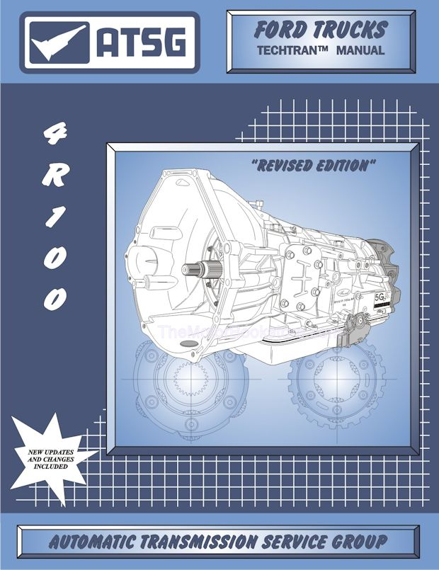 Ford Trucks 4R100 Transmission Rebuild Manual 1998-2004