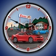 G5 Camaro SS Esso Station Wall Clock, LED Lighted
