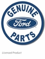 """Genuine Ford Parts\"" Tin Sign"
