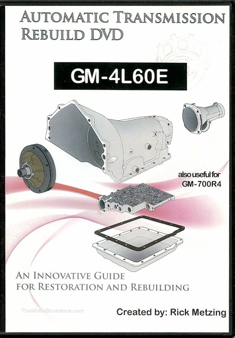 GM-4L60E Automatic Transmission Rebuild DVD | The Motor Bookstore