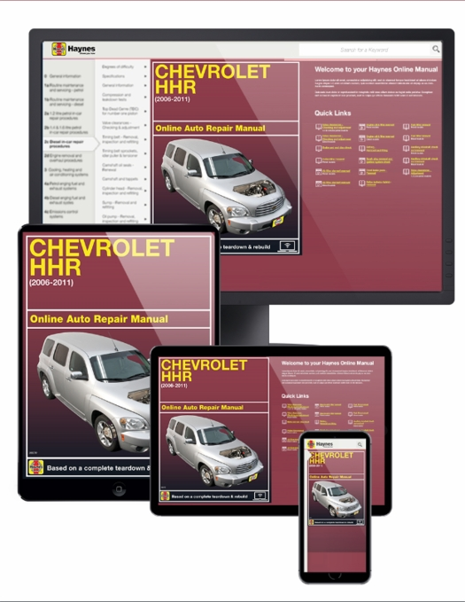 gm chevrolet hhr online service manual 2006 2011 rh themotorbookstore com repair manual for 2006 honda rancher repair manual for 2006 honda crv